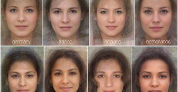 Beleza padrão de mulheres ao redor do mundo