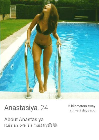 Tinder em São Petersbugo - Rússia