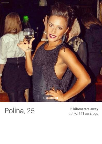 Tinder em São Petersburgo - Russia