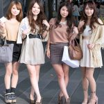 Mulheres do Tinder em Tóquio capital do Japão