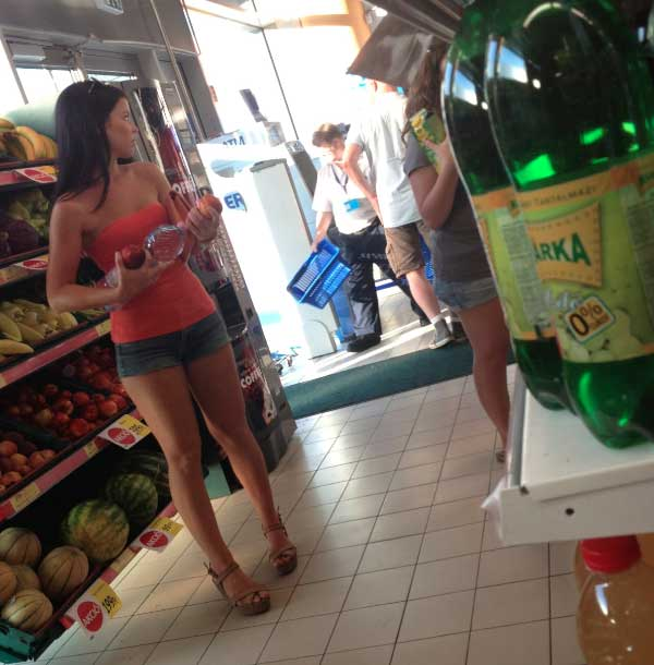 Teen ass de compras en la cola - 2 part 7