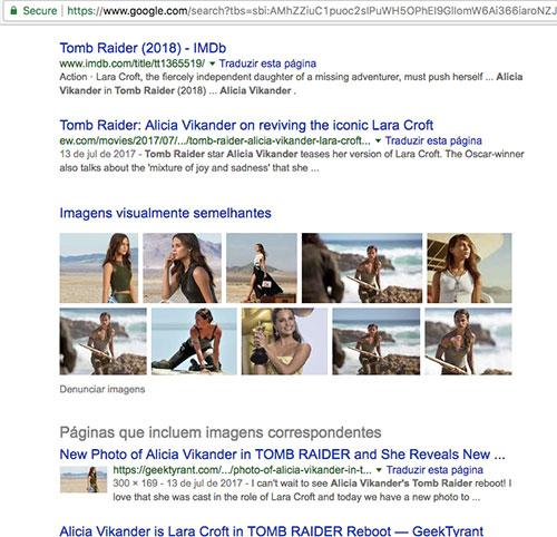Alicia Vikander do Tomb Raider