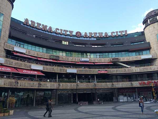 Arena City centro de Kiev