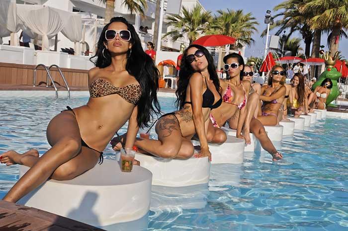 Beach Clubs Ibiza