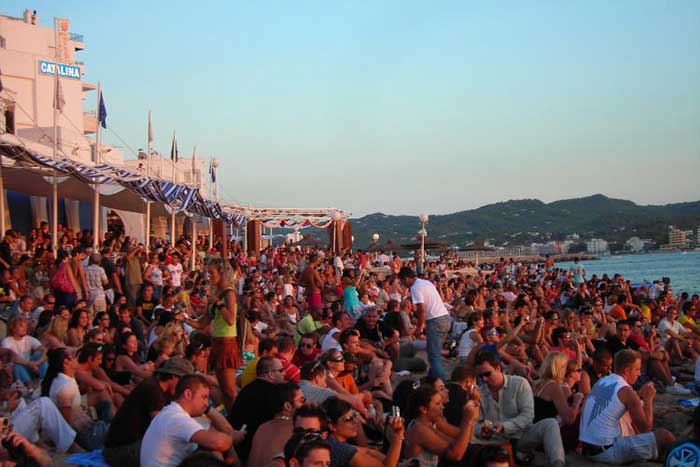 Cafe del Mar Ibiza Sunset San Antonio
