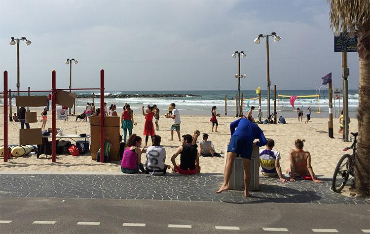 Carnaval israelense nas praias e Tel Aviv
