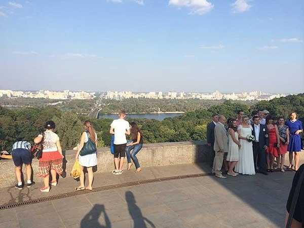 Casamento em Kiev na Ukrania