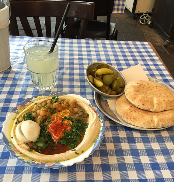 Caspi Hummus em Tel Aviv