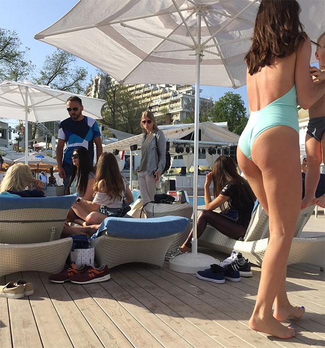 Comentei que as mães também vão na Ibiza Beach Club com as crianças?