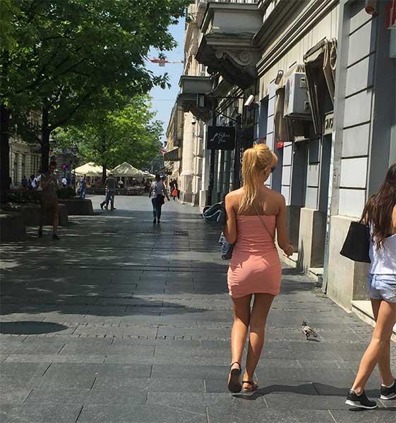 Rua Knez-Mihailova em Belgrado