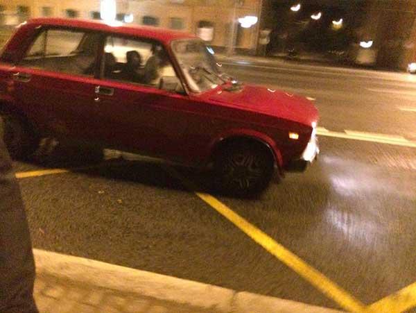 Meu taxi cigano-soviético