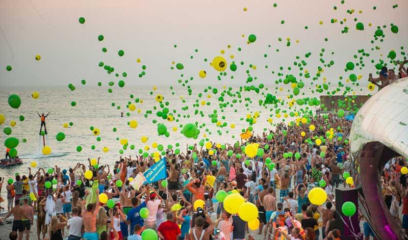 Festa Kazantip na Crimea ex Ucrania