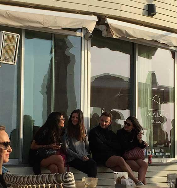 Lala Land Beach Club em Tel Aviv