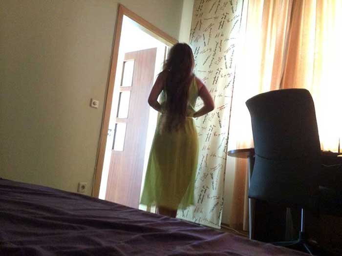 Mulher gostosa bailarina Ucraniana