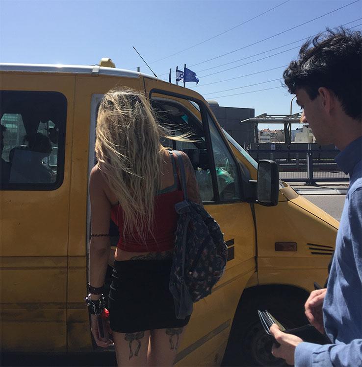 Mulher gostosa loira em Tel Aviv Israel