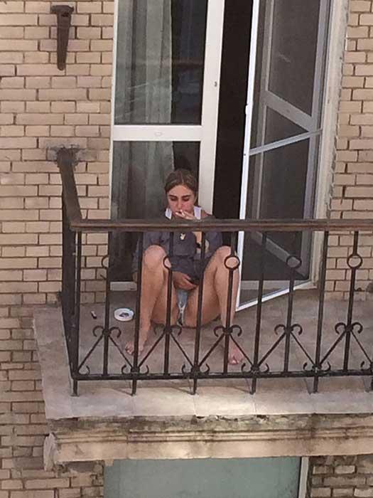 mulher ucraniana em kiev