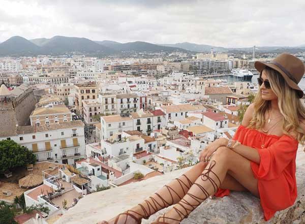 Old Town Ibiza Spain