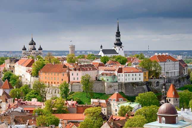 Centro (Old Town) de Tallinn