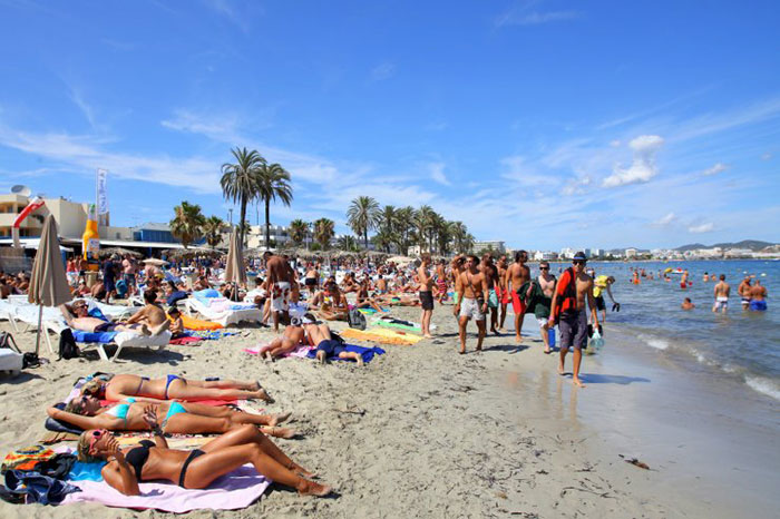 Playa d'en Bossa Ibiza