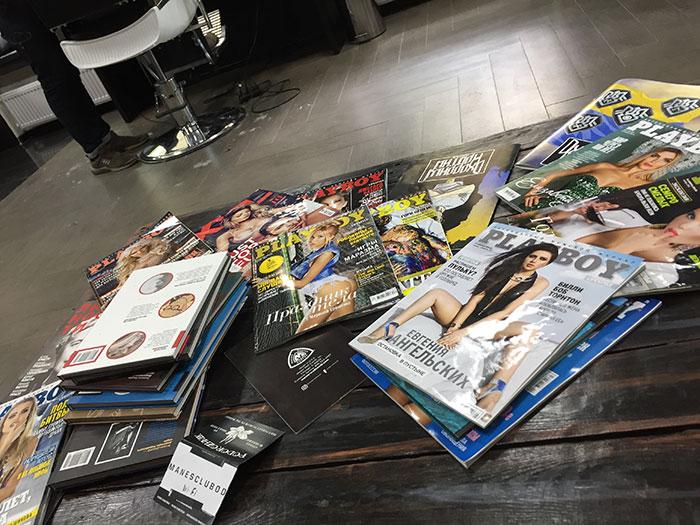 Mas já antecipo que na Playboy da Ucrania as mulheres nao tiram toda a roupa