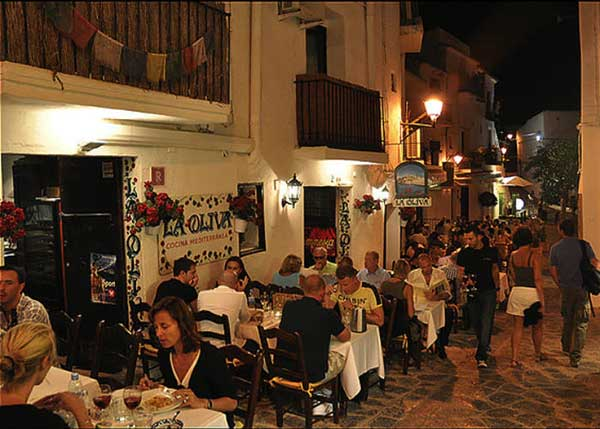 Restaurante La Olivia Ibiza Old Town